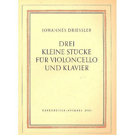 Driessler, J.: Drei kleine Stücke op.8 Nr. 1 (1948)