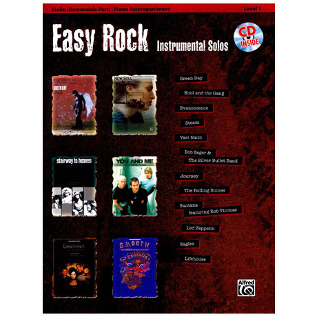 Easy Rock Instrumental Solos (+CD)
