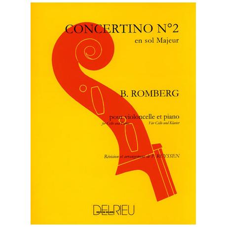 Romberg, B.: Concertino Nr. 2 - 1.Satz  G - Dur