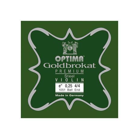 GOLDBROKAT PREMIUM Violinsaite E von Optima 4/4 | 0,25 mm