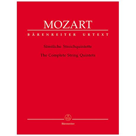 Mozart, W. A.: Sämtliche Streichquintette – Stimmen
