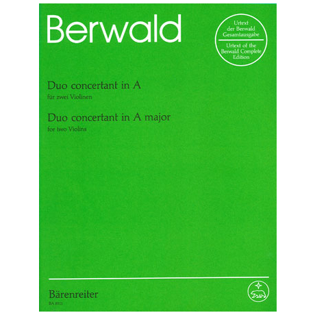 Berwald, F.: Duo concertant A-Dur
