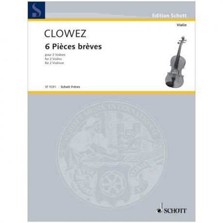 Clowez, V.: 6 Pièces brèves