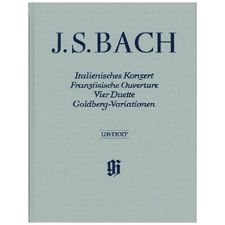 Bach, J. S.: Ital. Konzert, Franz. Ouverture, 4 Duette, Goldberg-Variationen