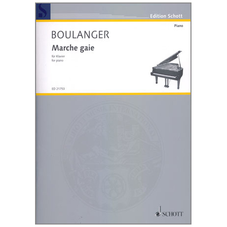 Boulanger, L.: Marche gaie