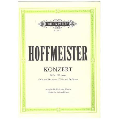 Hoffmeister: Konzert D-Dur