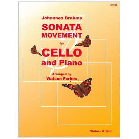 Brahms, J.: Sonatensatz (1853)