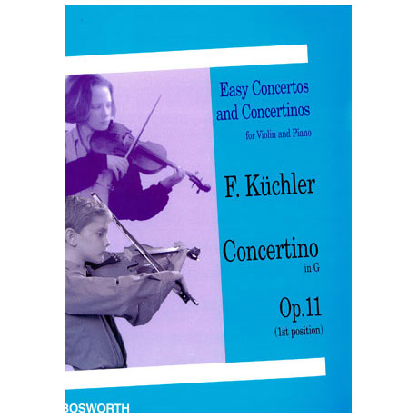 Küchler, F.: Concertino in G-Dur op.11