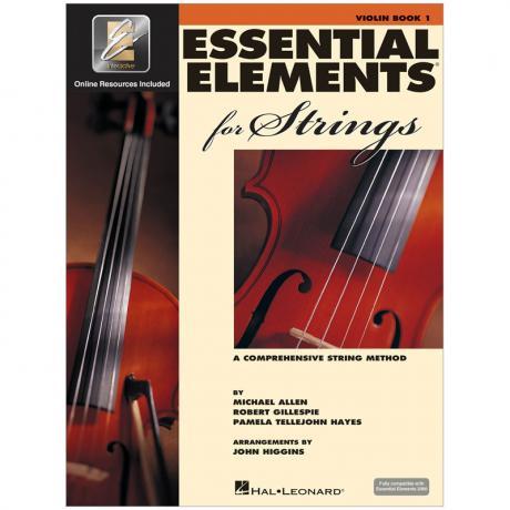 Allen, M./Gillespie, R./Tellejohn Hayes, P.: Essential Elements for Strings 2000 Book 1 (+Online Audio)
