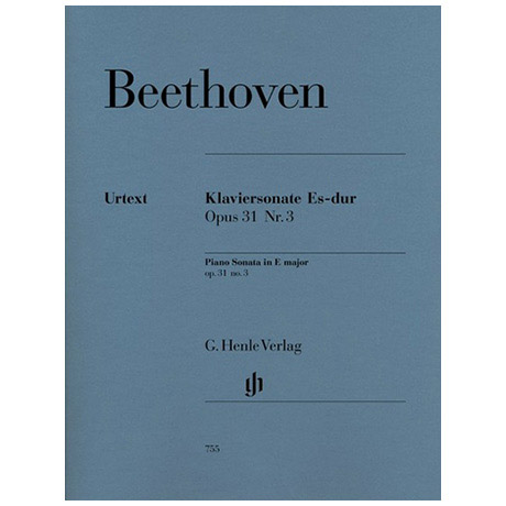 Beethoven, L. v.: Klaviersonate Nr. 18 Es-Dur Op. 31,1 La Chasse