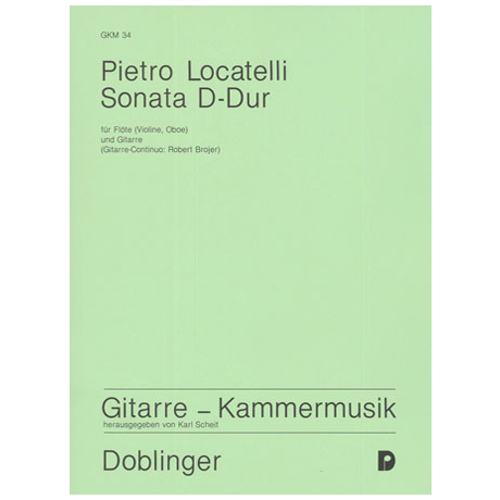 Locatelli, P.: Sonata D-Dur