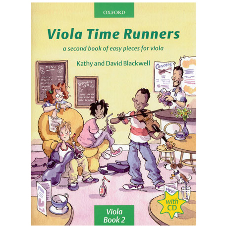Blackwell, K. & D.: Viola Time Runners - Band 2 (+CD)