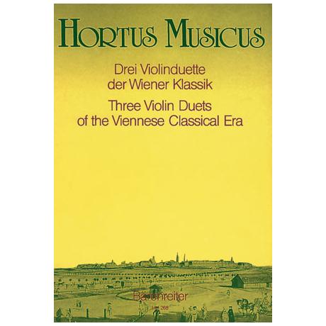 Drei Violinduette der Wiener Klassik