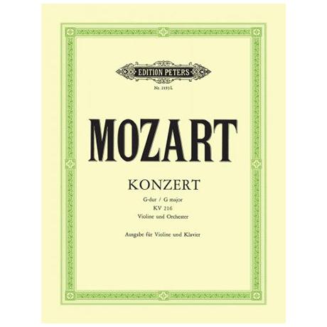 Mozart, W. A.: Violinkonzert Nr. 3 KV 216 G-Dur (Flesch)
