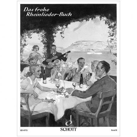 Das frohe Rheinlieder-Buch Band 2 – Klavier