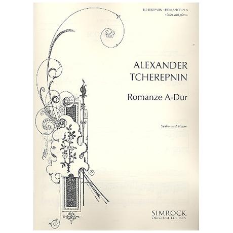 Tscherepnin, A.: Romance A-Dur