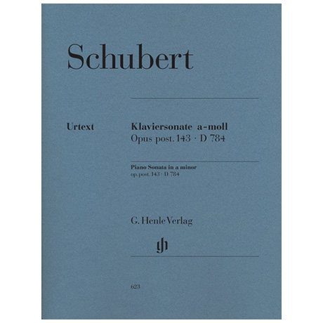 Schubert, F.: Klaviersonate a-Moll Op. post. 143 D 784