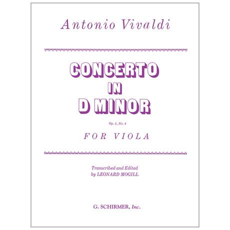 Vivaldi, A.: Violakonzert d-Moll nach Op. 3/6