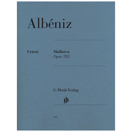 Albéniz, I.: Mallorca Op. 202