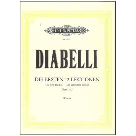 Diabelli, A.: Die ersten Lektionen am Klavier