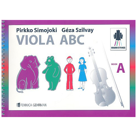 Colourstrings Viola ABC Book A