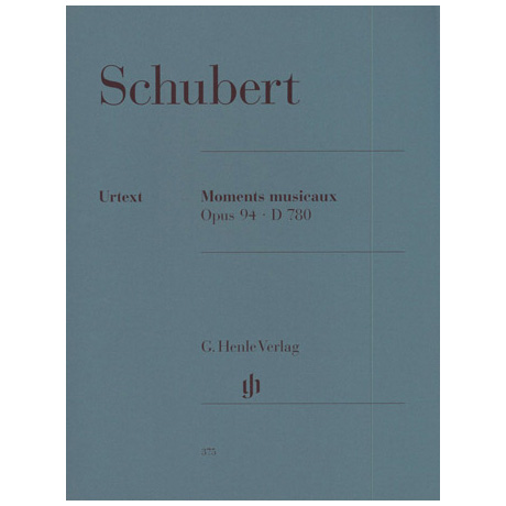 Schubert, F.: Moments musicaux Op. 94 D 780