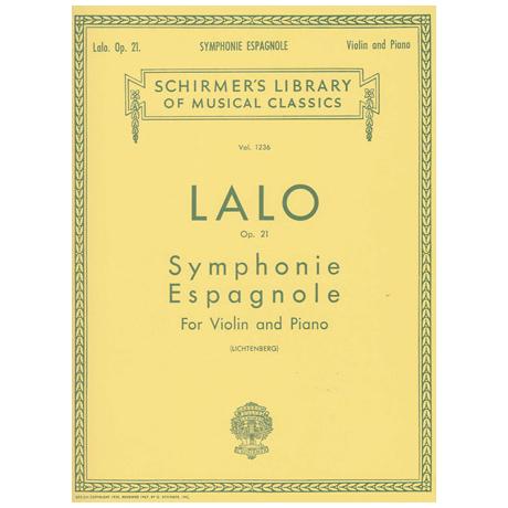 Lalo, E.: Symphonie Espagnole op. 21