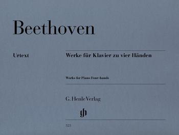 Beethoven, L. v.: Werke für Klavier zu 4 Händen