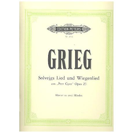 Grieg, E.: Solvejgs Lied Op. 55/4, Solvejgs Wiegenlied