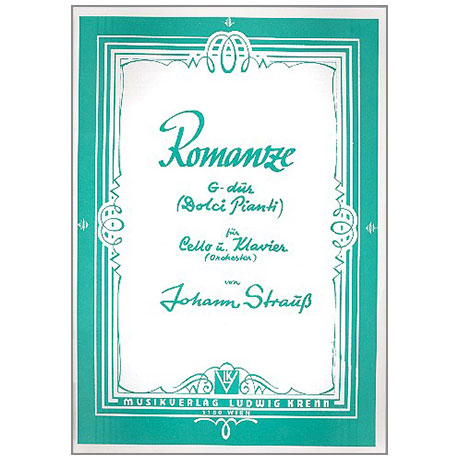 Strauß, J.: Romanze G-Dur Nr. 3 (Dolci Pianti)