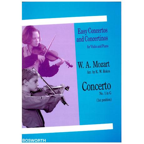 Mozart, W. A.: Violinkonzert Nr. 1 G-Dur