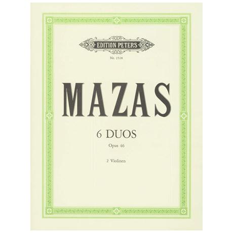 Mazas, J.F.: 6 Duos Op.46