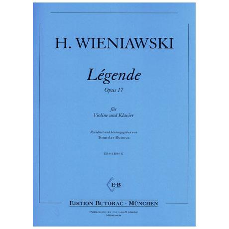 Wieniawski, H.: Légende Op. 17