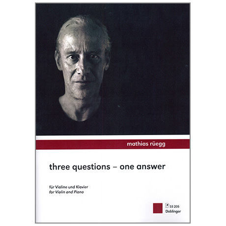 Rüegg, M.: Three Questions – One Answer