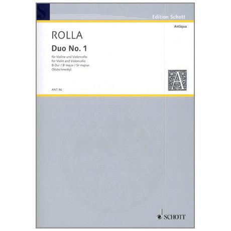 Rolla: 3 Duos Nr.1 in B-Dur
