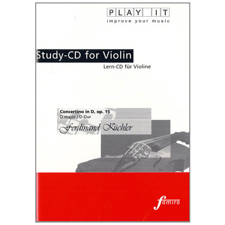 Küchler, F.: Concertino in D-Dur op. 15 Play-Along-CD (nur CD)