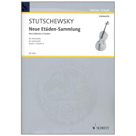 Stutschewsky, J.: Neue Etüden-Sammlung Band 4