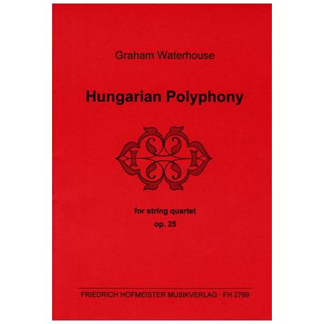 Waterhouse, G.: Hungarian Polyphony Op. 25