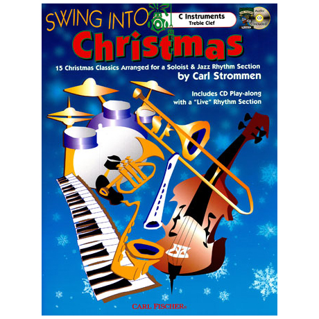 Strommen, C.: Swing Into Christmas (+CD)