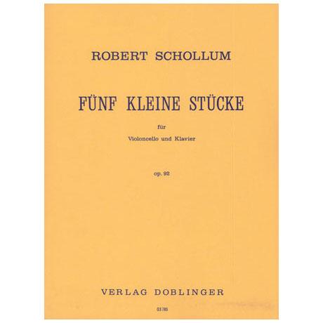 Schollum, R.: 5 kleine Stücke Op. 92