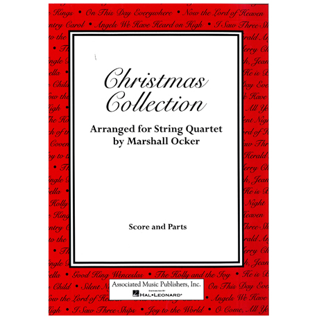 Christmas Collection (Partitur und Stimmen)