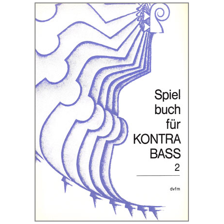 Spielbuch für Kontrabass Band 2 für Kontrabass und Klavier