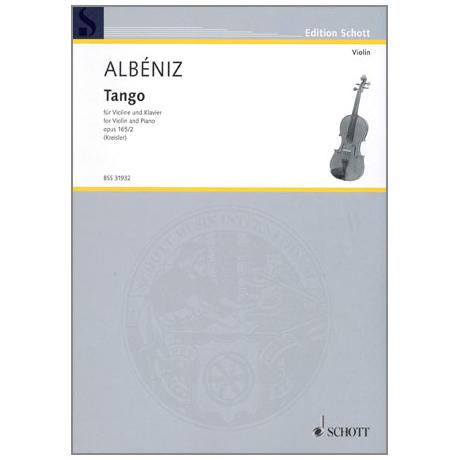 Albéniz, I.: Tango op.165 Nr.2
