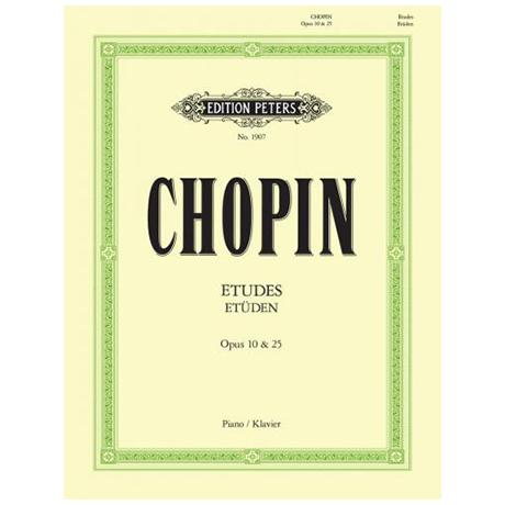 Chopin, F.: Etüden Op. 10, 25