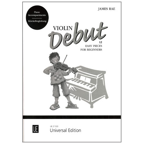 Rae, J.: Violin Debut (+CD)