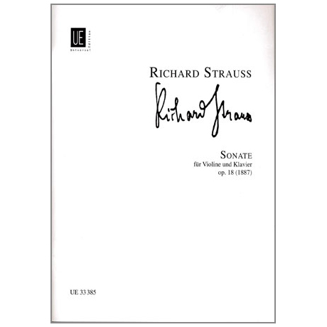 Strauss, R.: Sonate Op. 18 Es-Dur