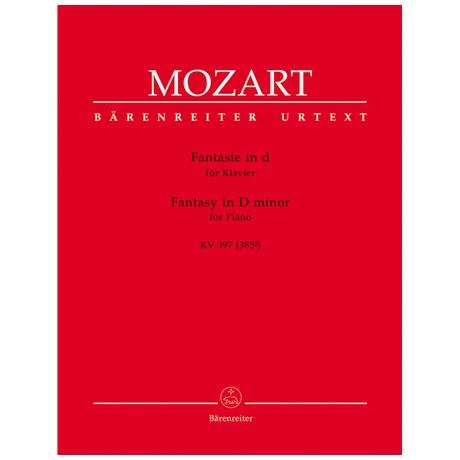 Mozart, W. A.: Fantasie KV 397 (385g) d-Moll