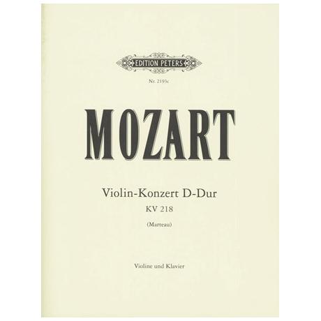 Mozart, W. A.: Violinkonzert Nr. 4 KV 218 D-Dur