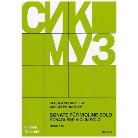 Prokofjew, S.: Violinsonate Op.115