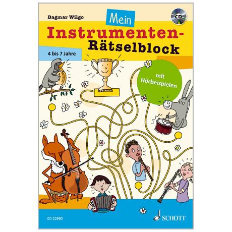 Wilgo, D.: Mein Instrumenten-Rätselblock (+CD)